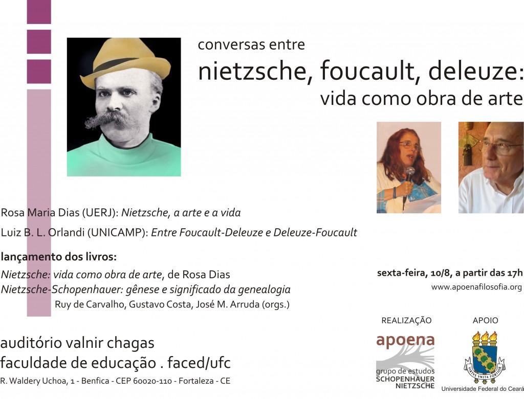 Conversas entre Nietzsche, Foucault e Deleuze